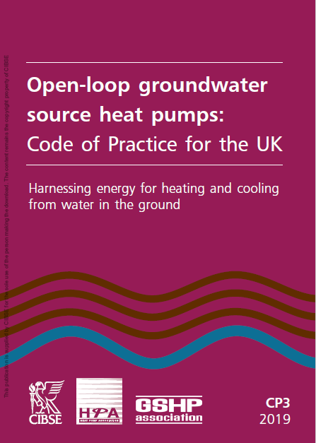Surface water source heat pump