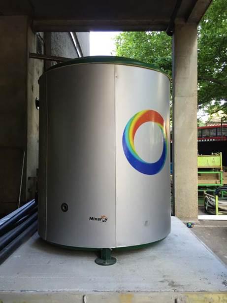 Mixergy Tank