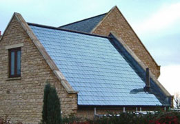 Pitched Roof Solar Collector