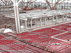 Underfloor heating works efficiently with IHT from ICAX